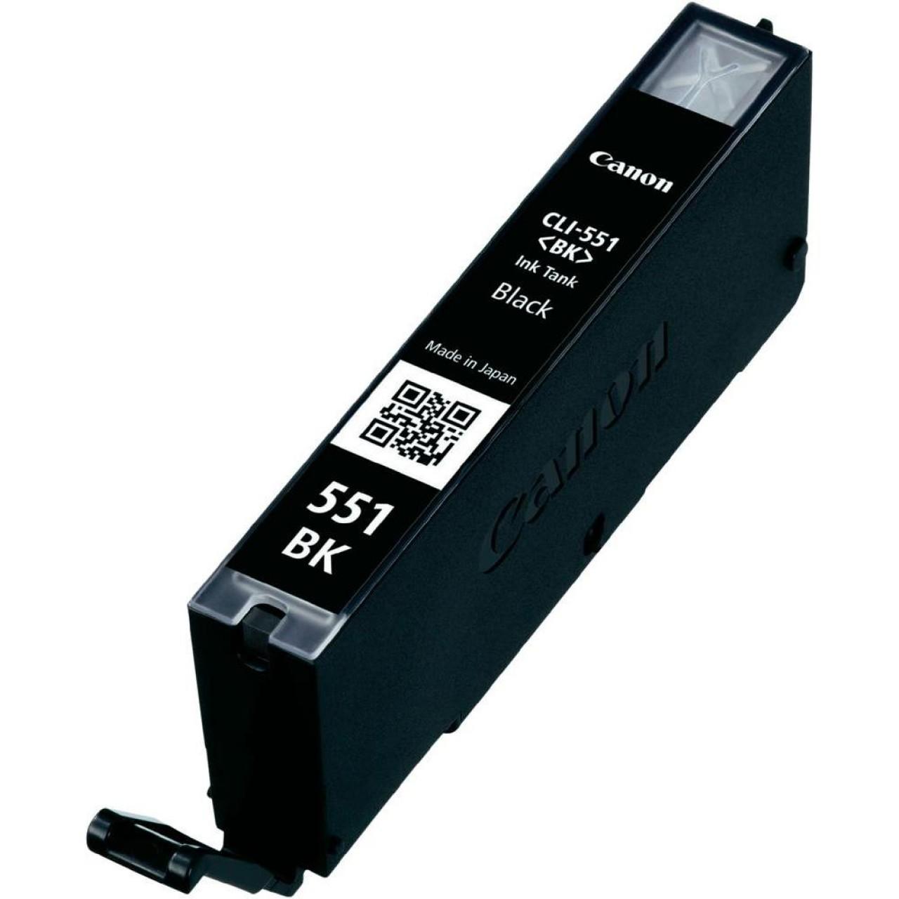 Μελάνι Canon Συμβατό  PF-CLI 551XL,Τελευταία εκδοση PF, Black 15ml για Pixma IP7250, IP8750, IX8650, MG5450, MG5550, MG5650, MG5655, MG6350, MG6450, MG6650, MG7150, MX725, MX925