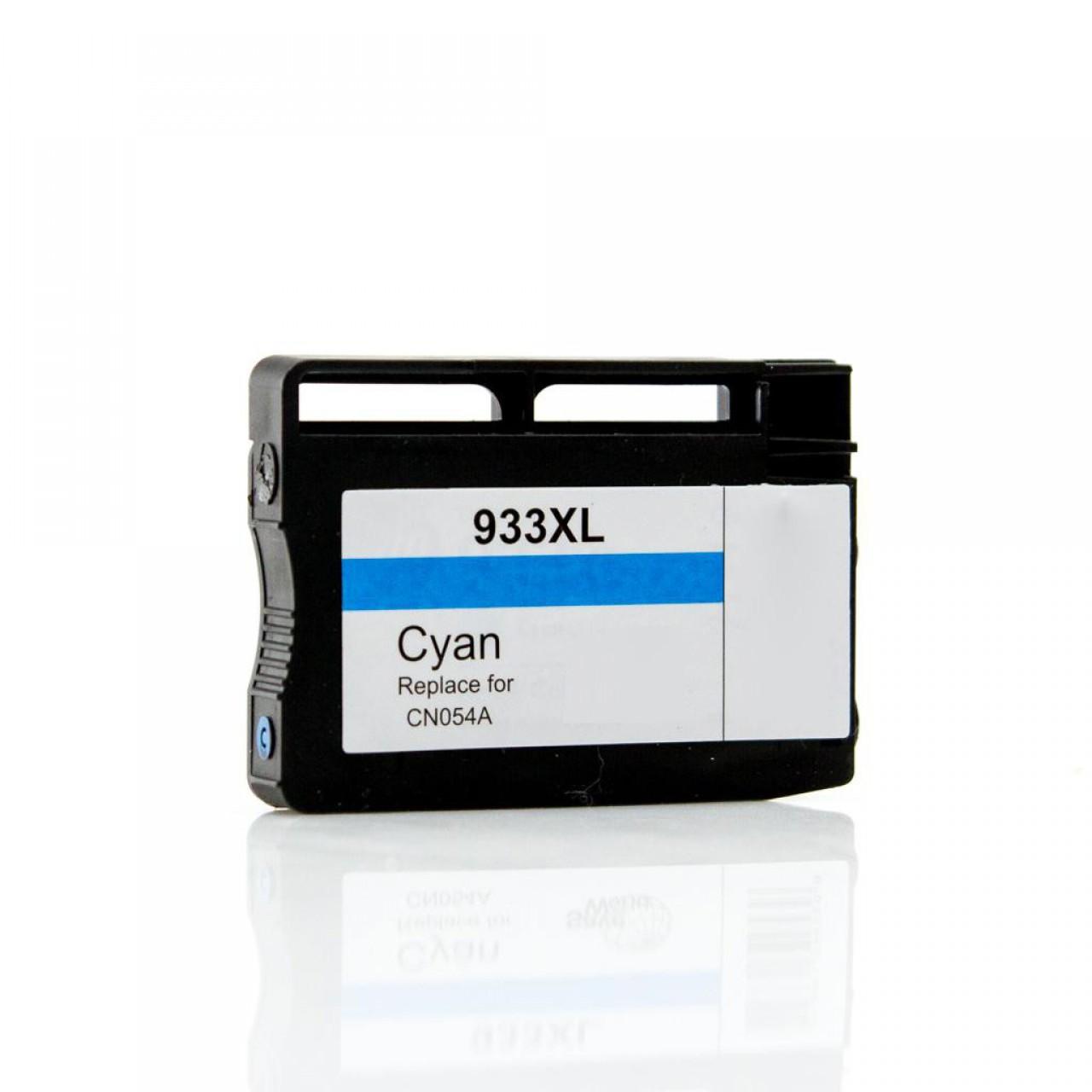 HP PF- 933 xl Cyan CN054AE (Premium Quality) Τελευταία Έκδοση PF,Σελ.1000 για Officejet: 6100, 6600, 6700, 7110, 7510, 7512, 7610, 7612, H611a, H7111n, H711a