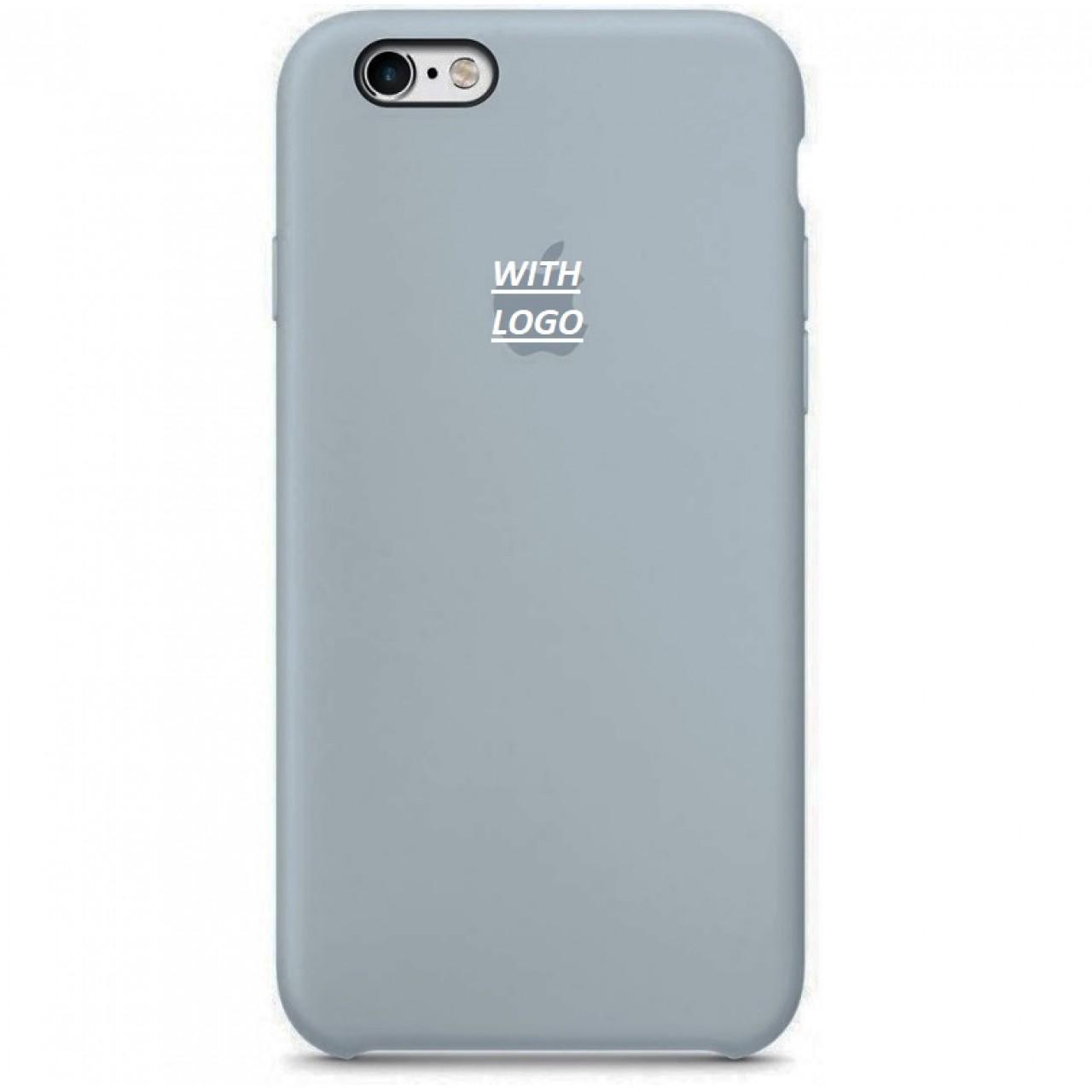 ΘΗΚΗ ΠΡΟΣΤΑΣΙΑΣ ΣΙΛΙΚΟΝΗΣ ΓΙΑ iPhone 6 PLUS ΑΠΑΛΟ ΓΚΡΙ  - BACK COVER SILICON CASE LIGHT GREY - OEM