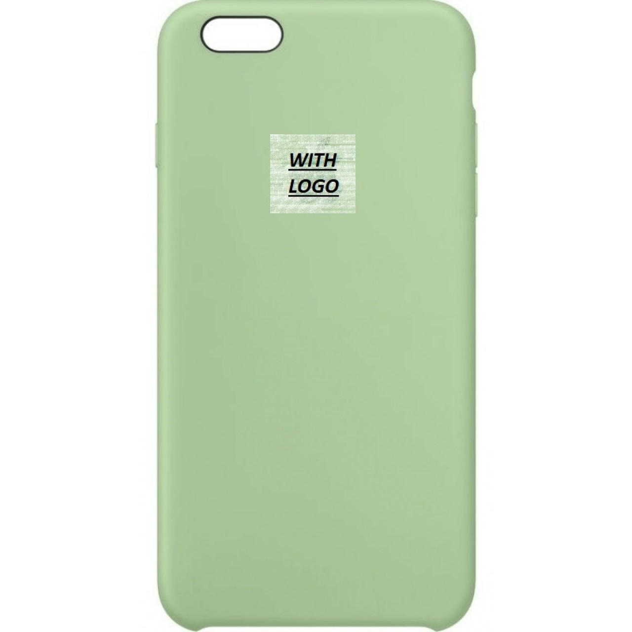 ΘΗΚΗ ΠΡΟΣΤΑΣΙΑΣ ΣΙΛΙΚΟΝΗΣ ΓΙΑ iPhone 6 PLUS ΜΕΝΤΑ - BACK COVER SILICON CASE MINT - OEM