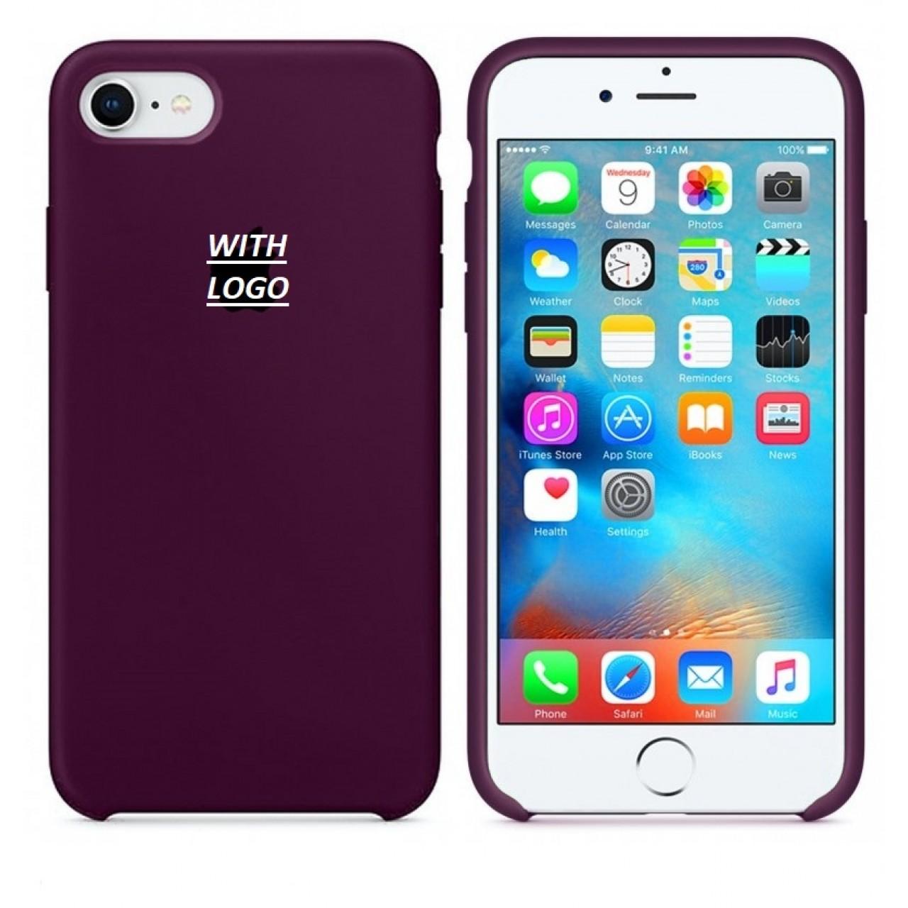 ΘΗΚΗ ΠΡΟΣΤΑΣΙΑΣ ΣΙΛΙΚΟΝΗΣ ΓΙΑ iPhone 6 PLUS ΜΠΟΡΝΤΩ - BACK COVER SILICON CASE PLUM - OEM
