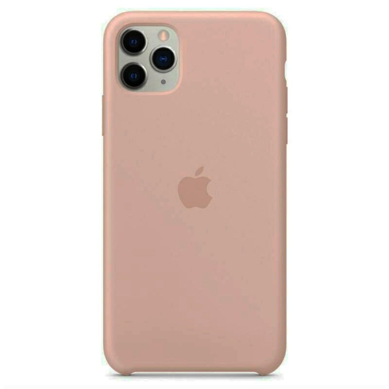 ΘΗΚΗ ΠΡΟΣΤΑΣΙΑΣ ΣΙΛΙΚΟΝΗΣ ΓΙΑ iPhone 11 PRO ΣΑΠΙΟ ΜΗΛΟ - BACK COVER SILICON CASE NUDE - OEM
