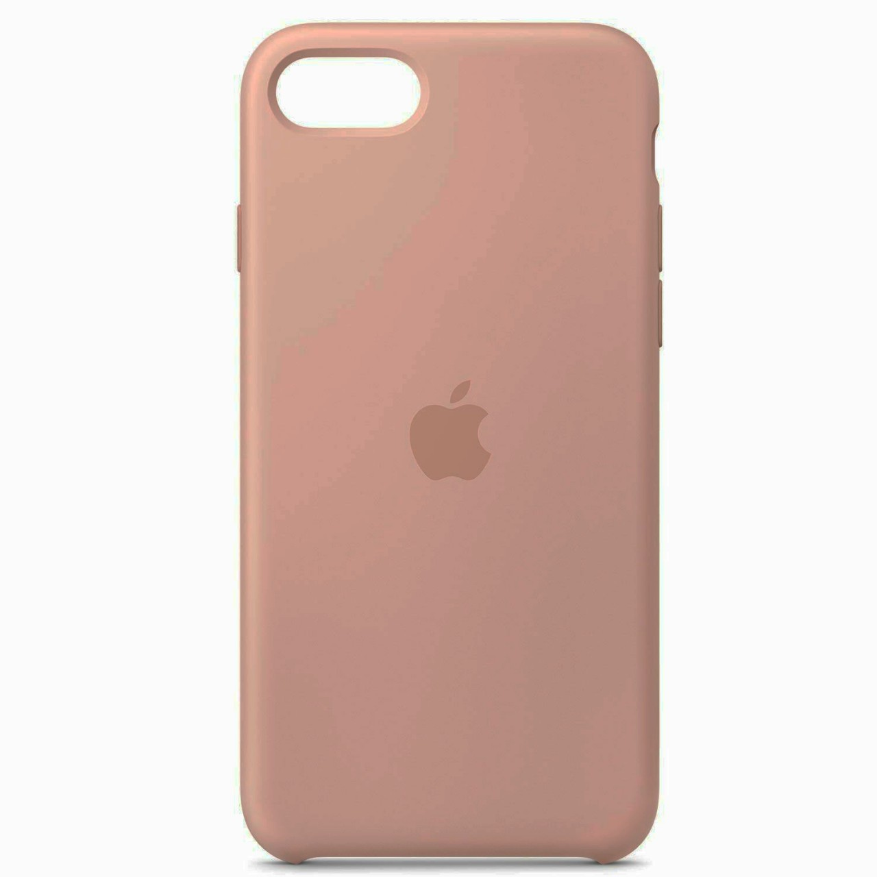 ΘΗΚΗ ΠΡΟΣΤΑΣΙΑΣ ΣΙΛΙΚΟΝΗΣ ΓΙΑ iPhone 7 / 8 PLUS ΣΑΠΙΟ ΜΗΛΟ - BACK COVER SILICON CASE NUDE - OEM