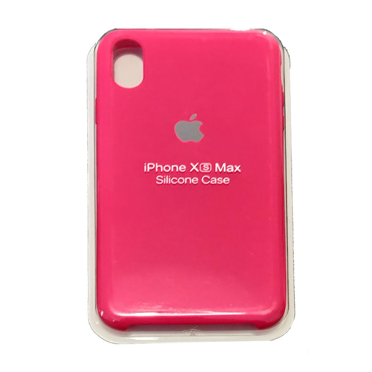 ΘΗΚΗ ΠΡΟΣΤΑΣΙΑΣ ΣΙΛΙΚΟΝΗΣ ΓΙΑ iPhone XS MAX ΦΟΥΞΙΑ - BACK COVER SILICON CASE FUCHSIA - OEM