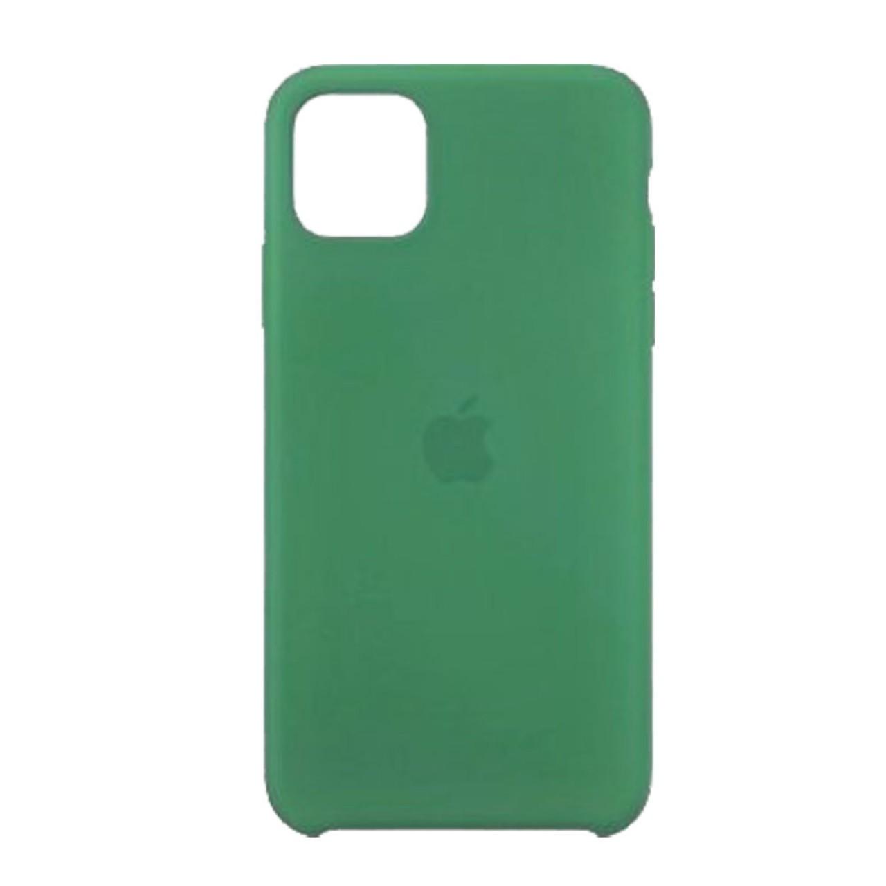 ΘΗΚΗ ΠΡΟΣΤΑΣΙΑΣ ΣΙΛΙΚΟΝΗΣ ΓΙΑ iPhone 11 PRO MAX ΠΡΑΣΙΝΗ - BACK COVER SILICON CASE GREEN - OEM