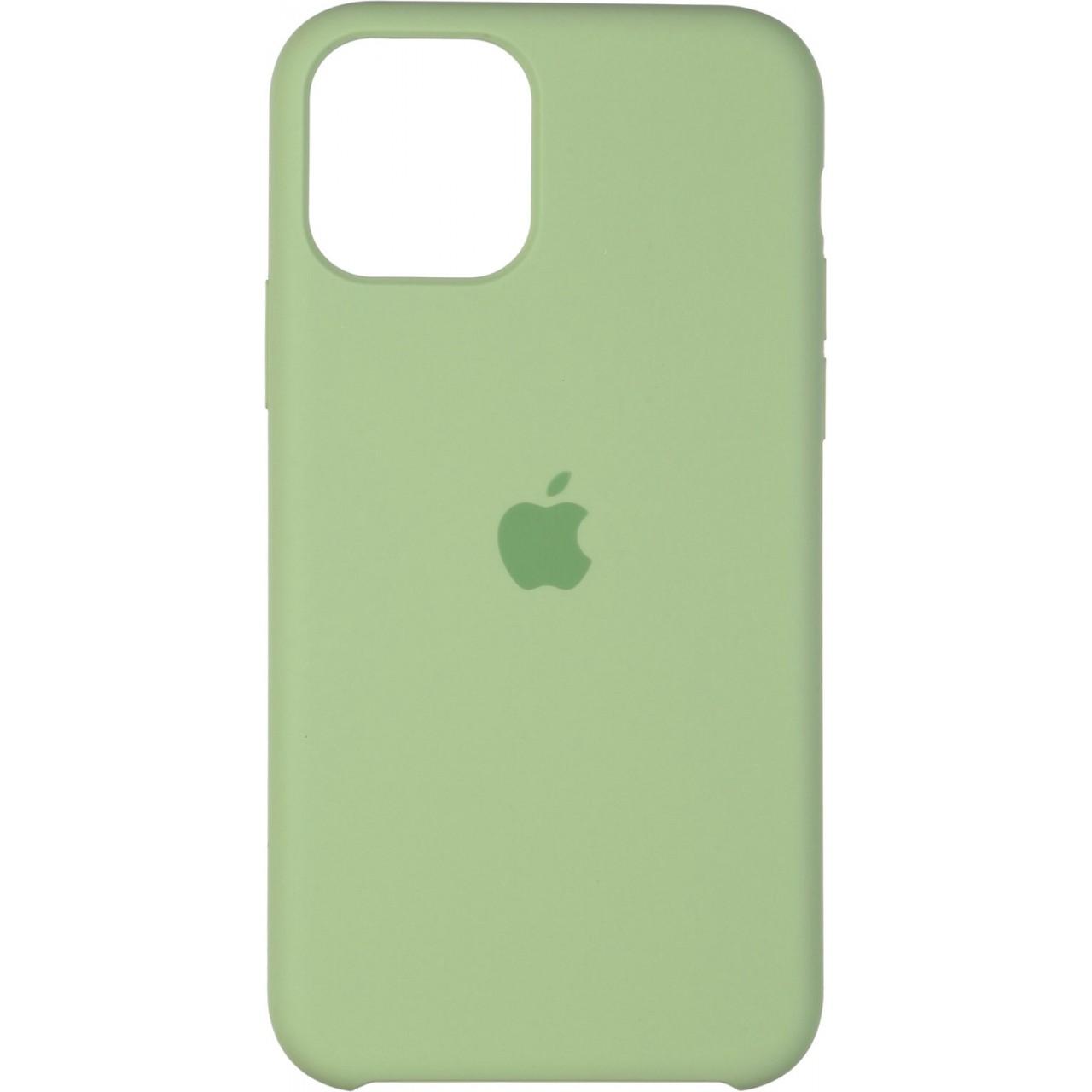 ΘΗΚΗ ΠΡΟΣΤΑΣΙΑΣ ΣΙΛΙΚΟΝΗΣ ΓΙΑ iPhone 11 PRO ΜΕΝΤΑ - BACK COVER SILICONE CASE MINT - OEM