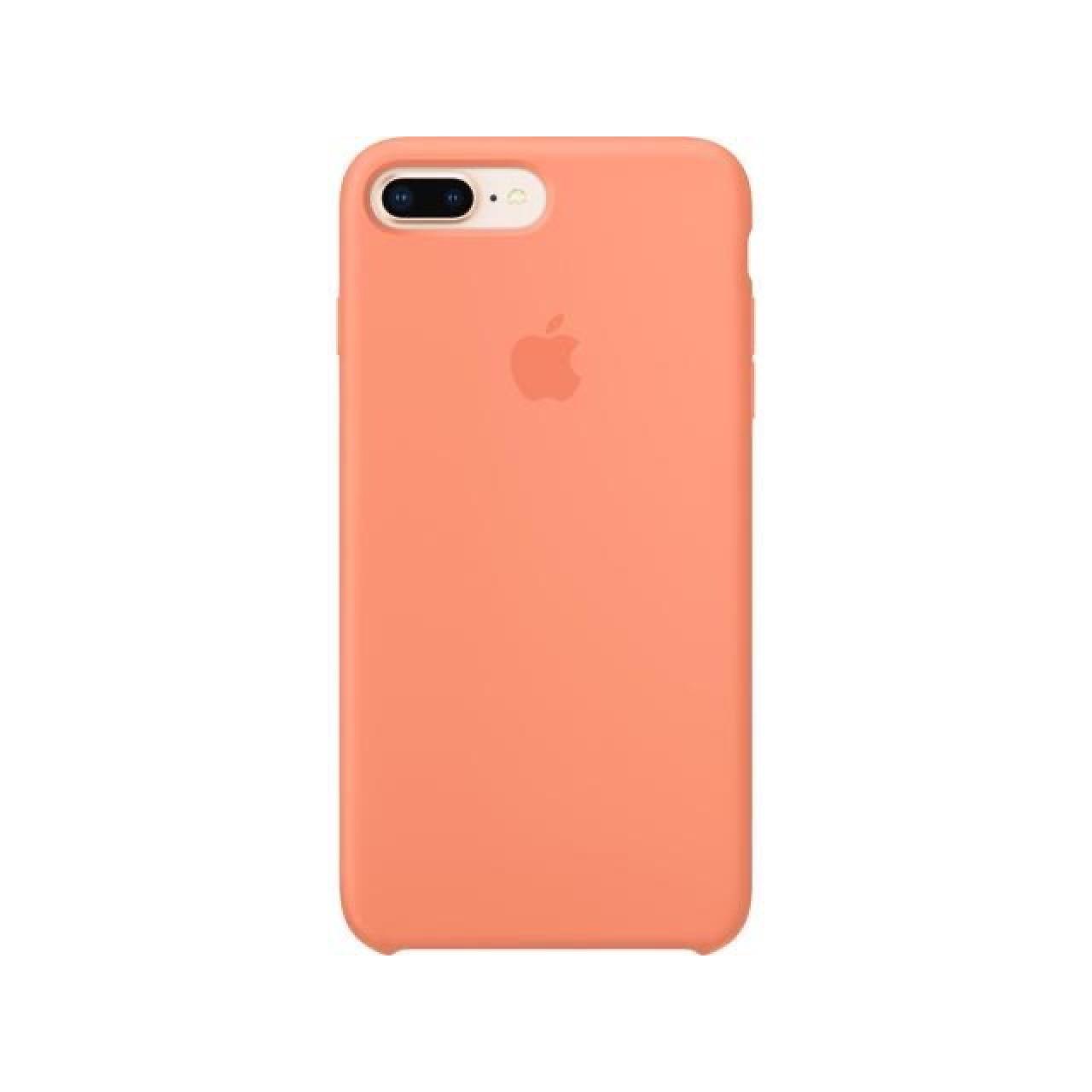 ΘΗΚΗ ΠΡΟΣΤΑΣΙΑΣ ΣΙΛΙΚΟΝΗΣ ΓΙΑ iPhone 7 / 8 PLUS ΣΟΜΟΝ - BACK COVER SILICONE CASE PEACH - OEM