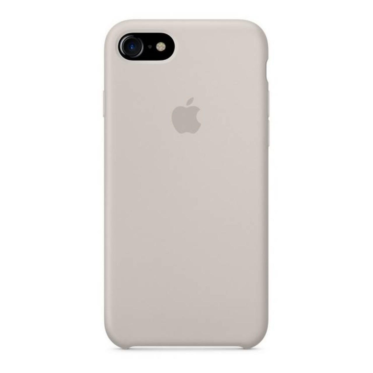 ΘΗΚΗ ΠΡΟΣΤΑΣΙΑΣ ΣΙΛΙΚΟΝΗΣ ΓΙΑ iPhone 7 / 8 PLUS ΓΚΡΙ ΤΗΣ ΠΕΤΡΑΣ - BACK COVER SILICON CASE STONE GREY - OEM