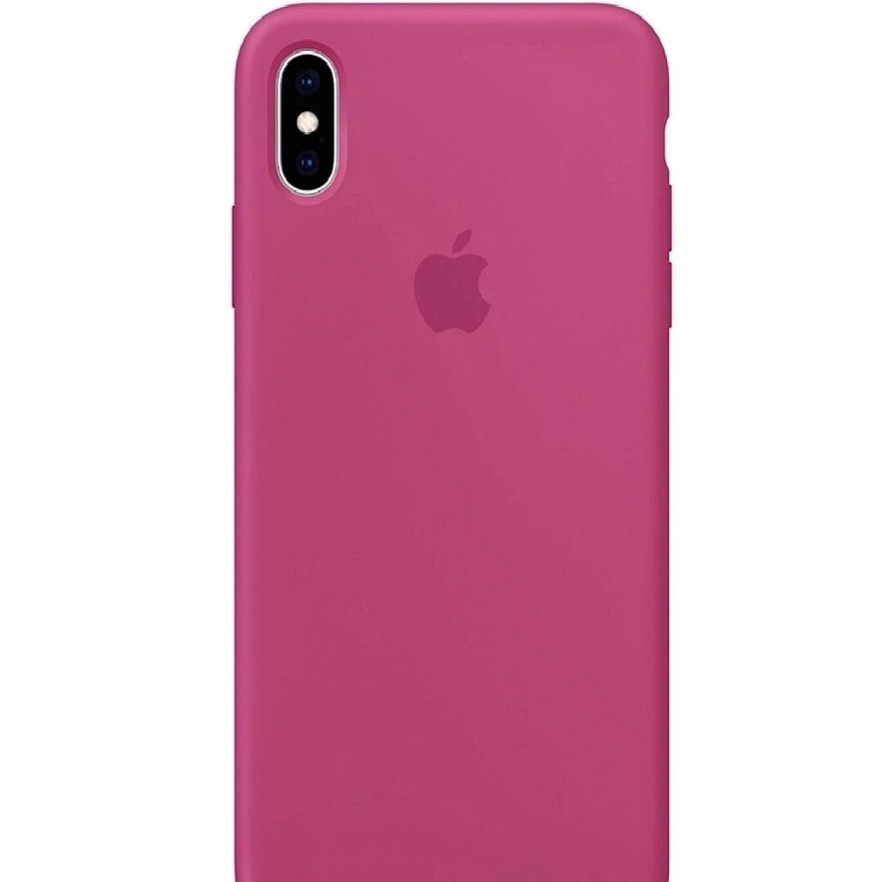 ΘΗΚΗ ΠΡΟΣΤΑΣΙΑΣ ΣΙΛΙΚΟΝΗΣ ΓΙΑ iPhone XS MAX ΚΕΡΑΣΙ - BACK COVER SILICON CASE CHERRY - OEM