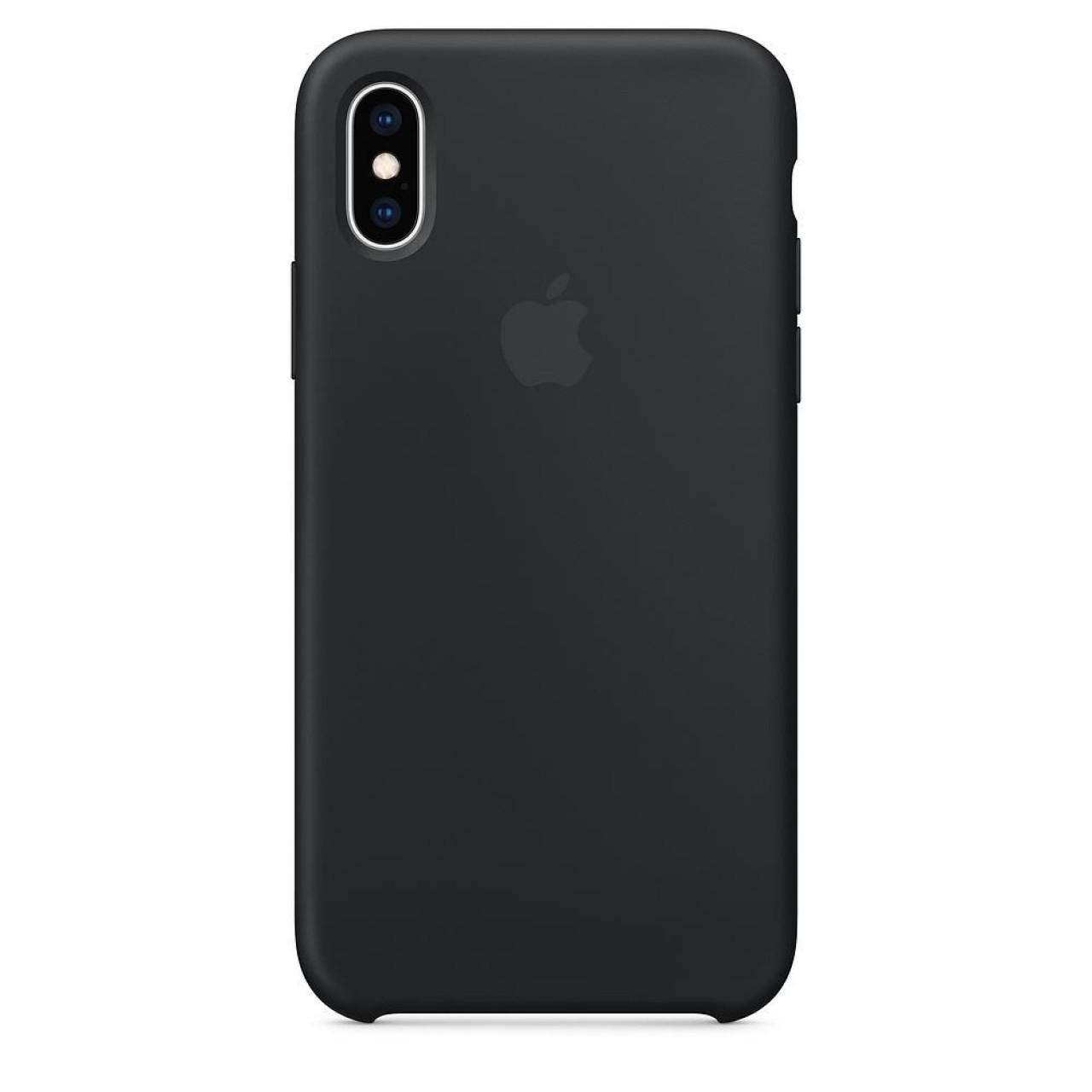 ΘΗΚΗ ΠΡΟΣΤΑΣΙΑΣ ΣΙΛΙΚΟΝΗΣ ΓΙΑ iPhone XR ΜΑΥΡΗ - BACK COVER SILICON CASE BLACK - OEM