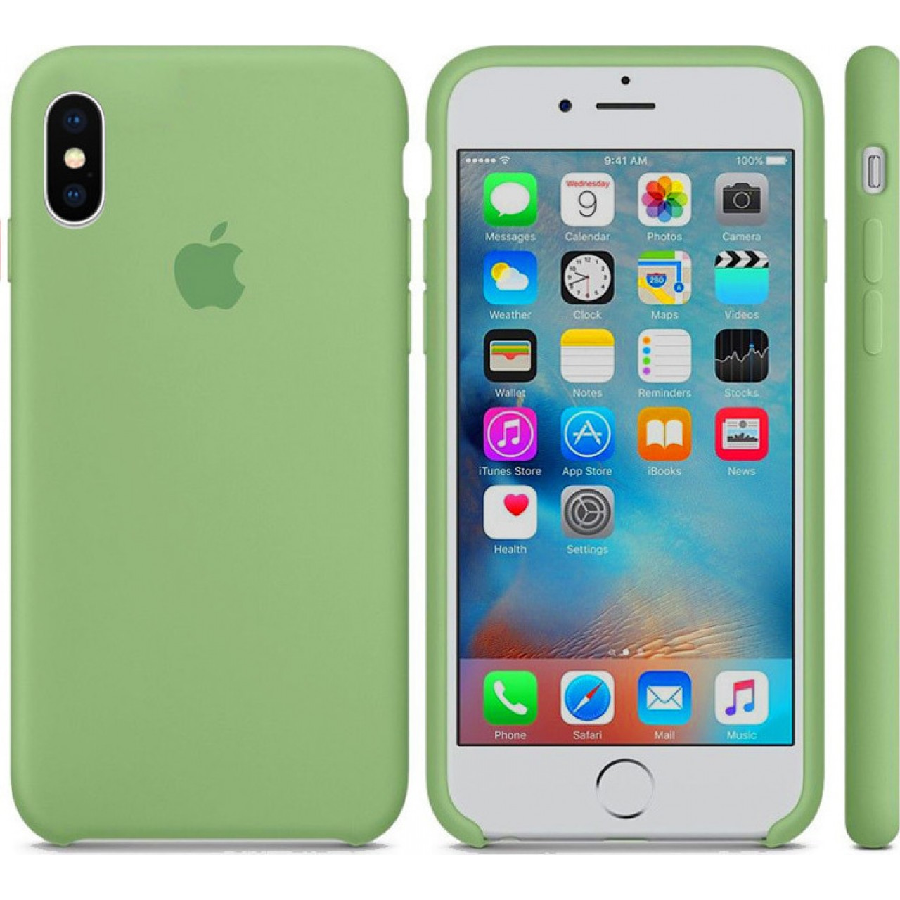 ΘΗΚΗ ΠΡΟΣΤΑΣΙΑΣ ΣΙΛΙΚΟΝΗΣ ΓΙΑ iPhone XR ΜΕΝΤΑ - BACK COVER SILICONE CASE MINT- OEM