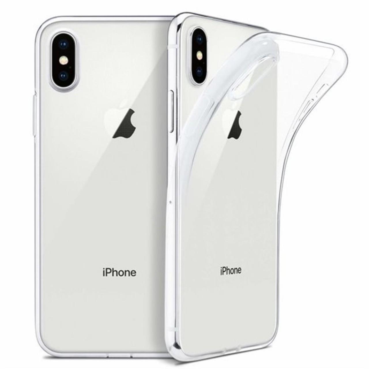 ΘΗΚΗ ΠΡΟΣΤΑΣΙΑΣ ΣΙΛΙΚΟΝΗΣ ΓΙΑ iPhone X / XS - BACK COVER SILICON CASE - OEM