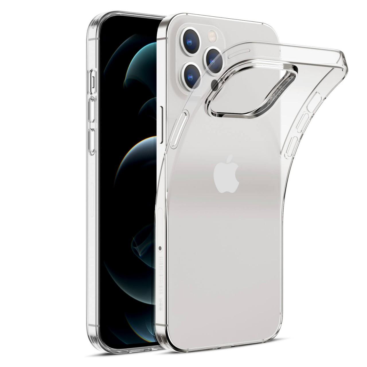 ΘΗΚΗ ΠΡΟΣΤΑΣΙΑΣ ΣΙΛΙΚΟΝΗΣ ΓΙΑ iPhone 12 / 12 Pro - BACK COVER SILICON CASE - NEW COLOR –ΔΙΑΦΑΝΗ