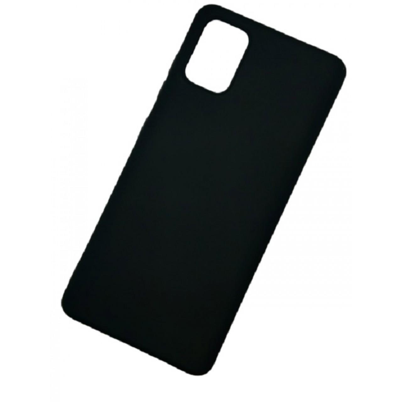 ΘΗΚΗ ΠΡΟΣΤΑΣΙΑΣ ΣΙΛΙΚΟΝΗΣ ΓΙΑ Samsung A71 ΜΑΥΡΗ - BACK COVER SILICONE CASE BLACK - OEM