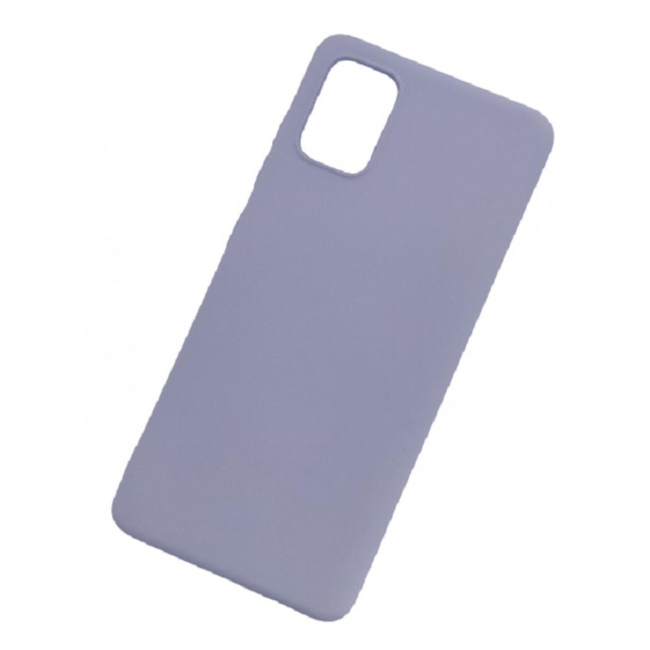 ΘΗΚΗ ΠΡΟΣΤΑΣΙΑΣ ΣΙΛΙΚΟΝΗΣ ΓΙΑ Samsung A71 ΛΕΒΑΝΤΑ - BACK COVER SILICONE CASE LAVENDER - OEM