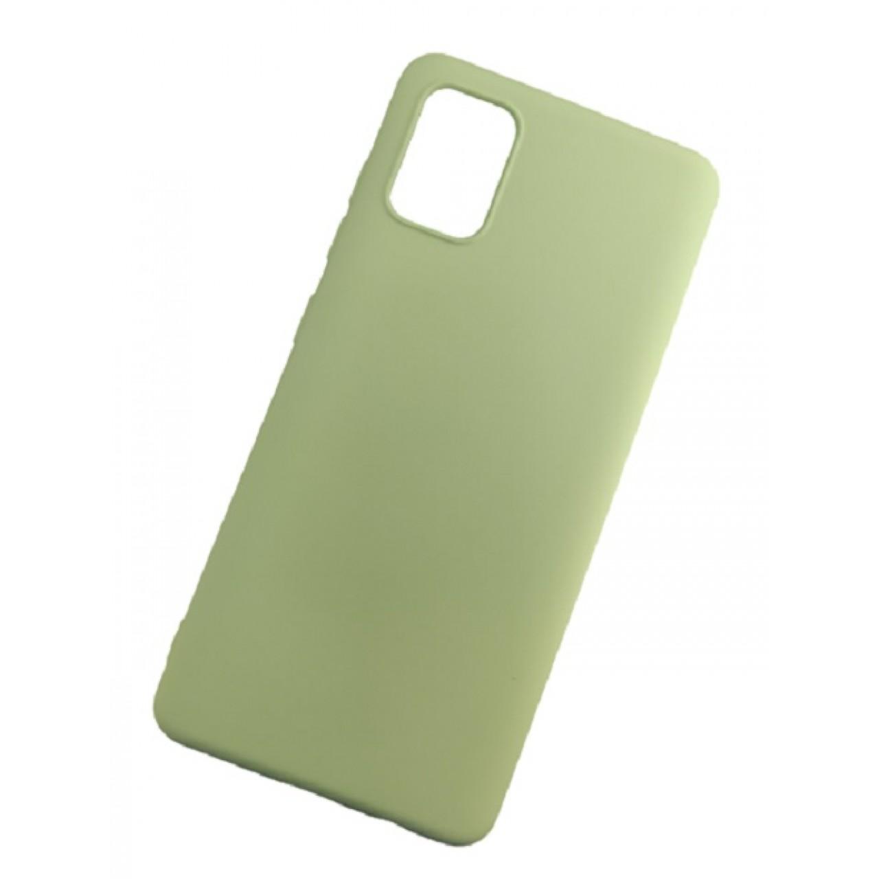 ΘΗΚΗ ΠΡΟΣΤΑΣΙΑΣ ΣΙΛΙΚΟΝΗΣ ΓΙΑ Samsung A71 ΜΕΝΤΑ - BACK COVER SILICONE CASE MINT - OEM