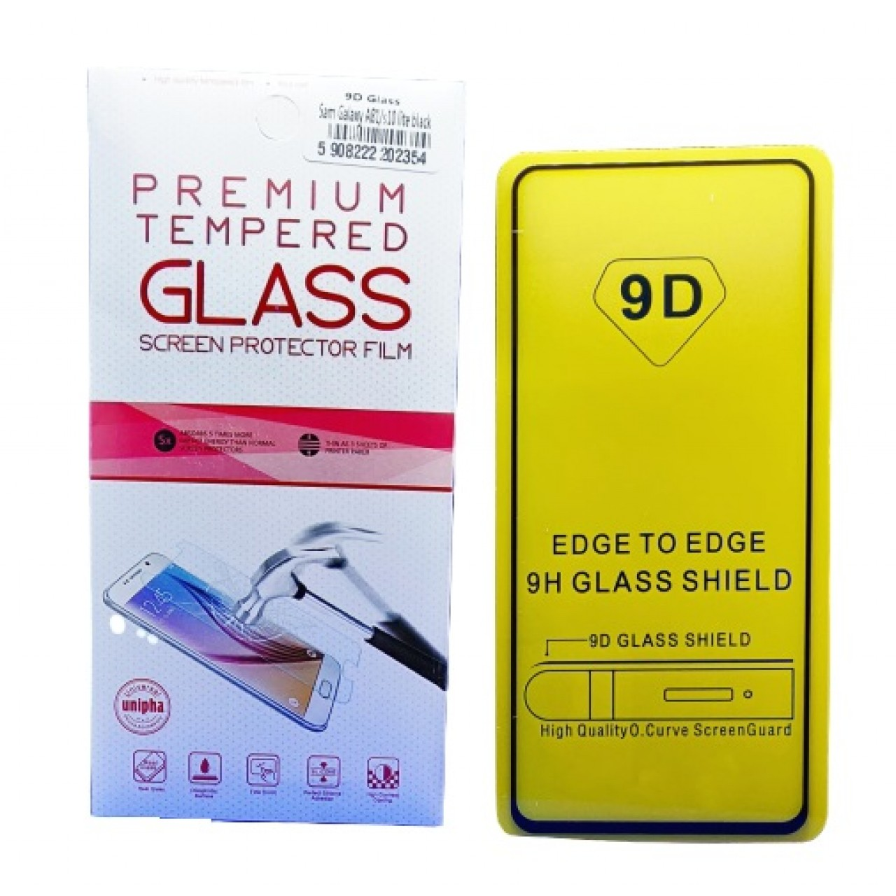 OEM - TEMPERED GLASS PREMIUM FULL FACE 9D FULL GLUE - ΠΡΟΣΤΑΤΕΥΤΙΚΟ ΤΖΑΜΙ ΟΘΟΝΗΣ ΓΙΑ SAMSUNG GALAXY A81 / s10 Lite