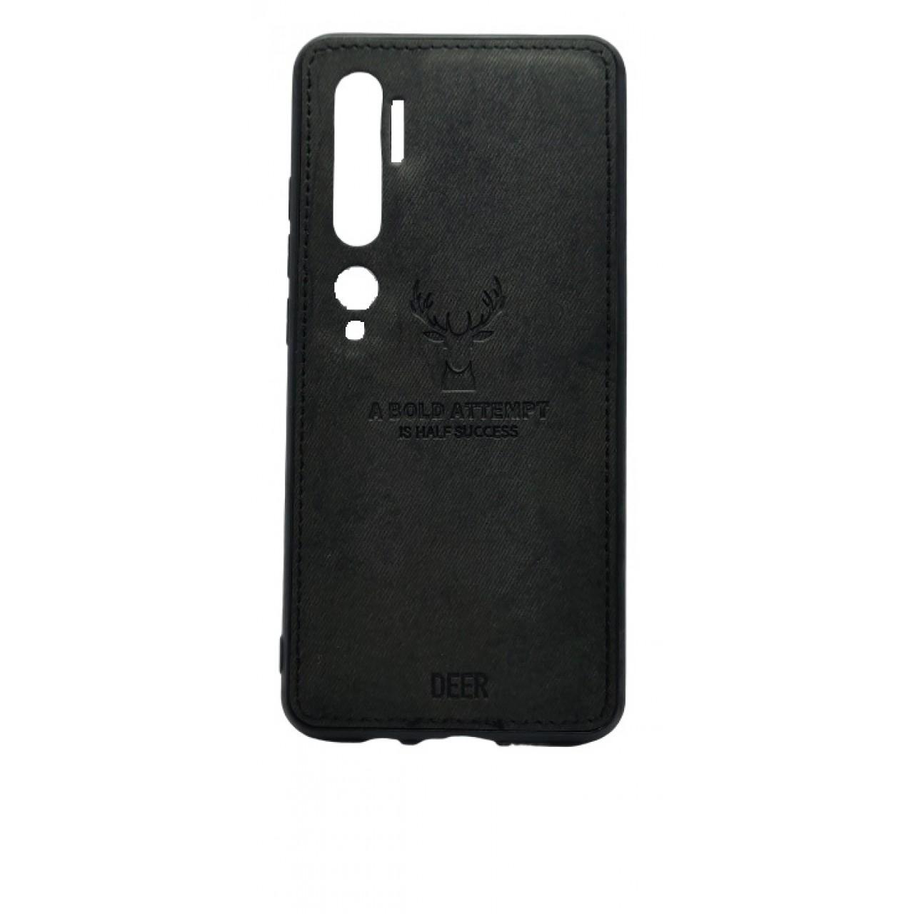 Deer Cloth Case For Xiaomi Mi 10 PRO-BLACK