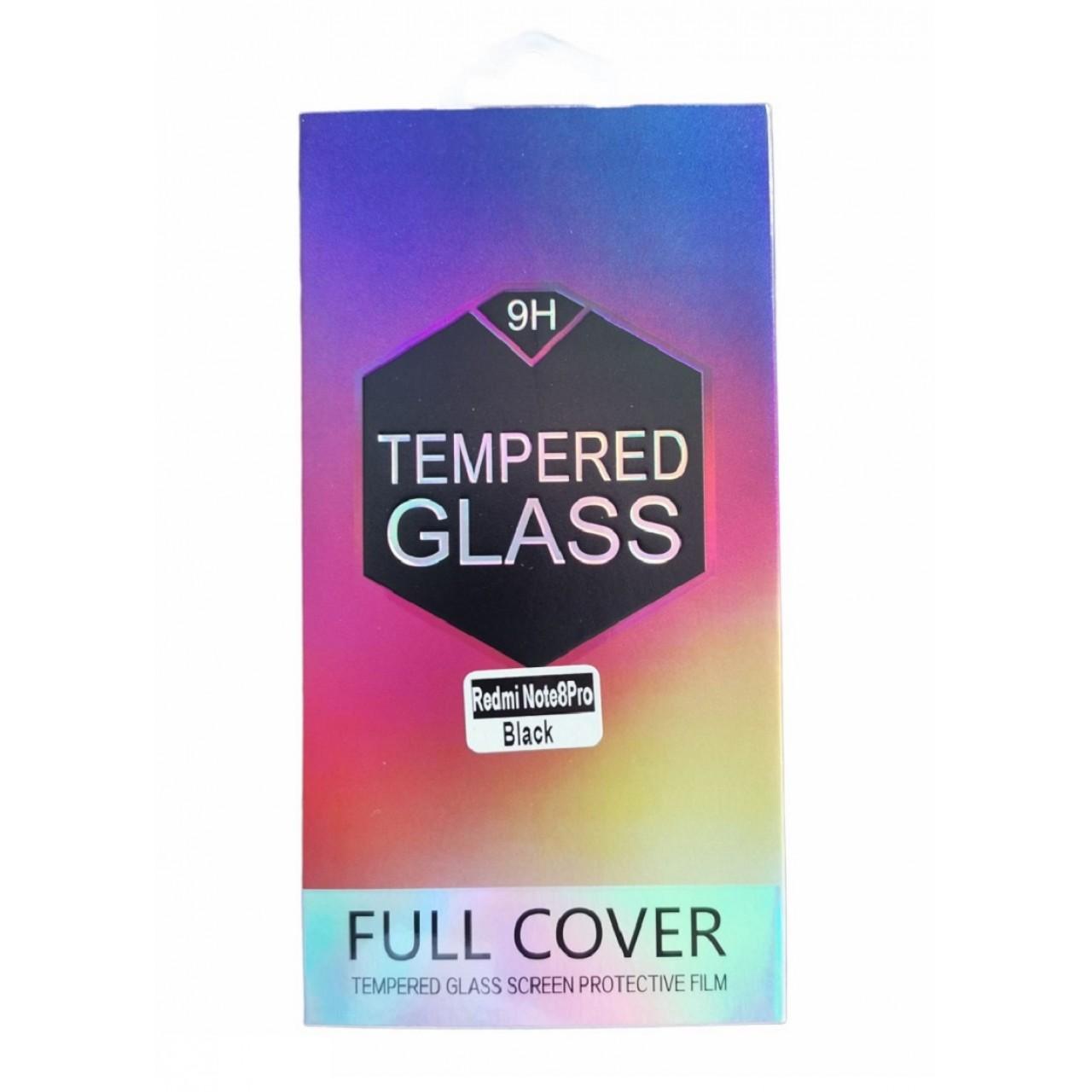 TEMPERED GLASS PREMIUM FULL FACE 10D FULL GLUE - ΠΡΟΣΤΑΤΕΥΤΙΚΟ ΤΖΑΜΙ ΟΘΟΝΗΣ ΓΙΑ XIAOMI REDMI NOTE 8 PRO - BLACK