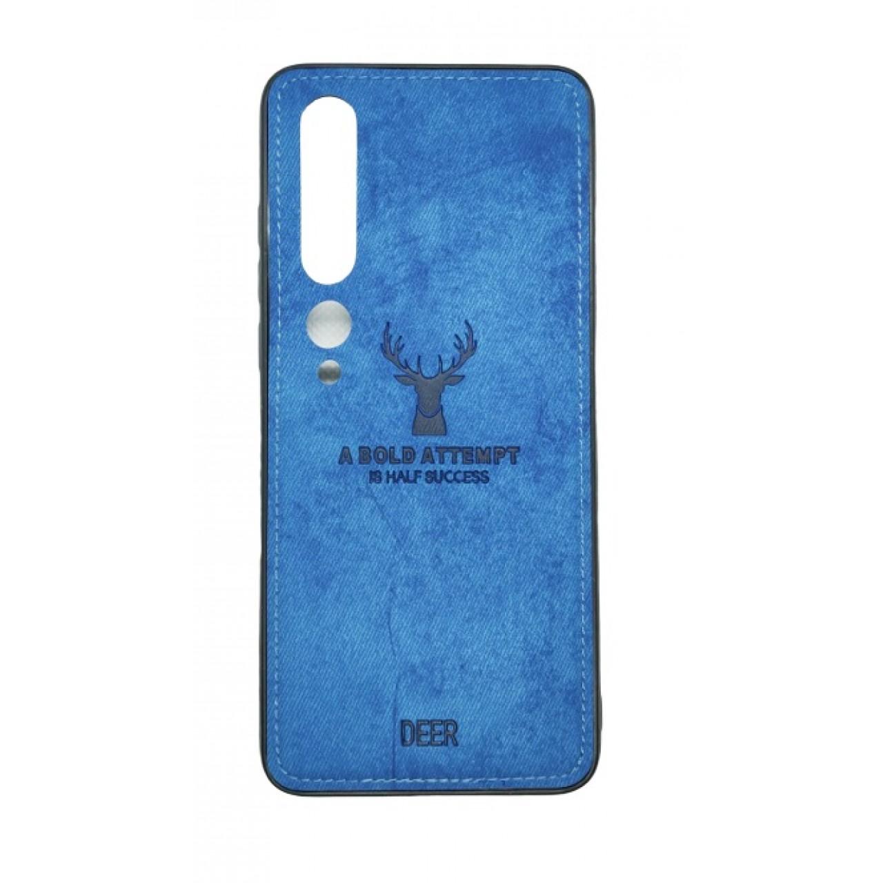 Deer Cloth Case For Xiaomi Mi 10 PRO-Blue
